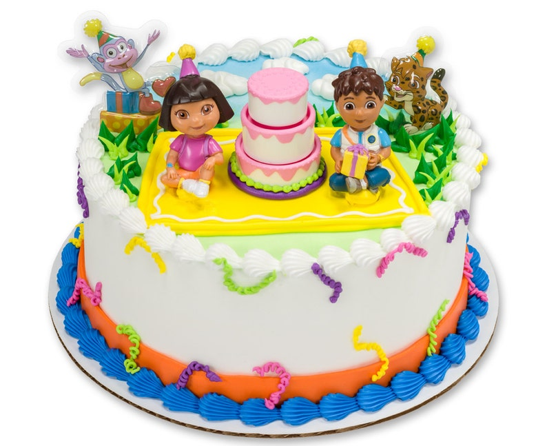 Dora Cake Topper Kit Birthday