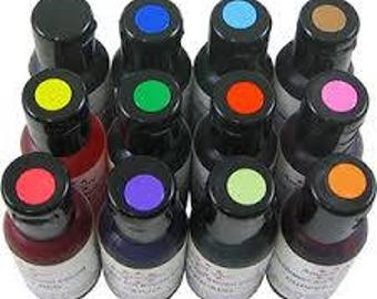 Amerimist Premium Air Brush Colors. .65 oz.
