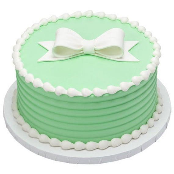 12 Black Pearl Sugar Bow Ties edible bows wedding cake decoration cupcake topper