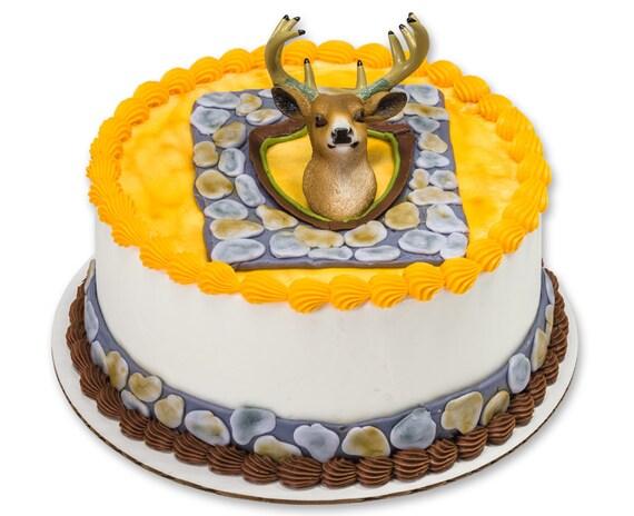 Phenomenal Deer Hunter Cake Topper Deer Hunters Birthday Cake Etsy Personalised Birthday Cards Sponlily Jamesorg