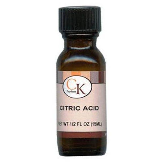 Citric Acid - 1/2 oz