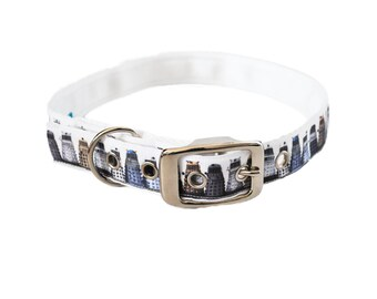 Handmade Dog Collar Dalek Puppy Dog Collar Inspired By Doctor Who *Side release collar* DR WHO COLLAR