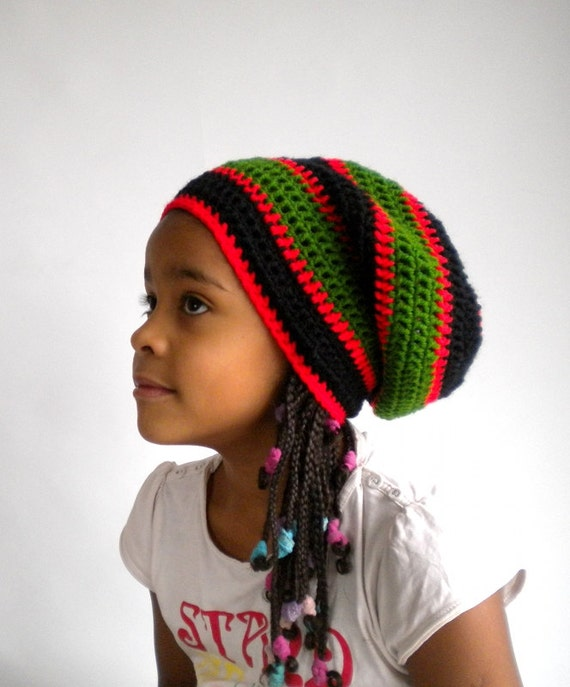 Rasta Mütze Pan-African Rastafari Mütze kulturelle Kleidung | Etsy