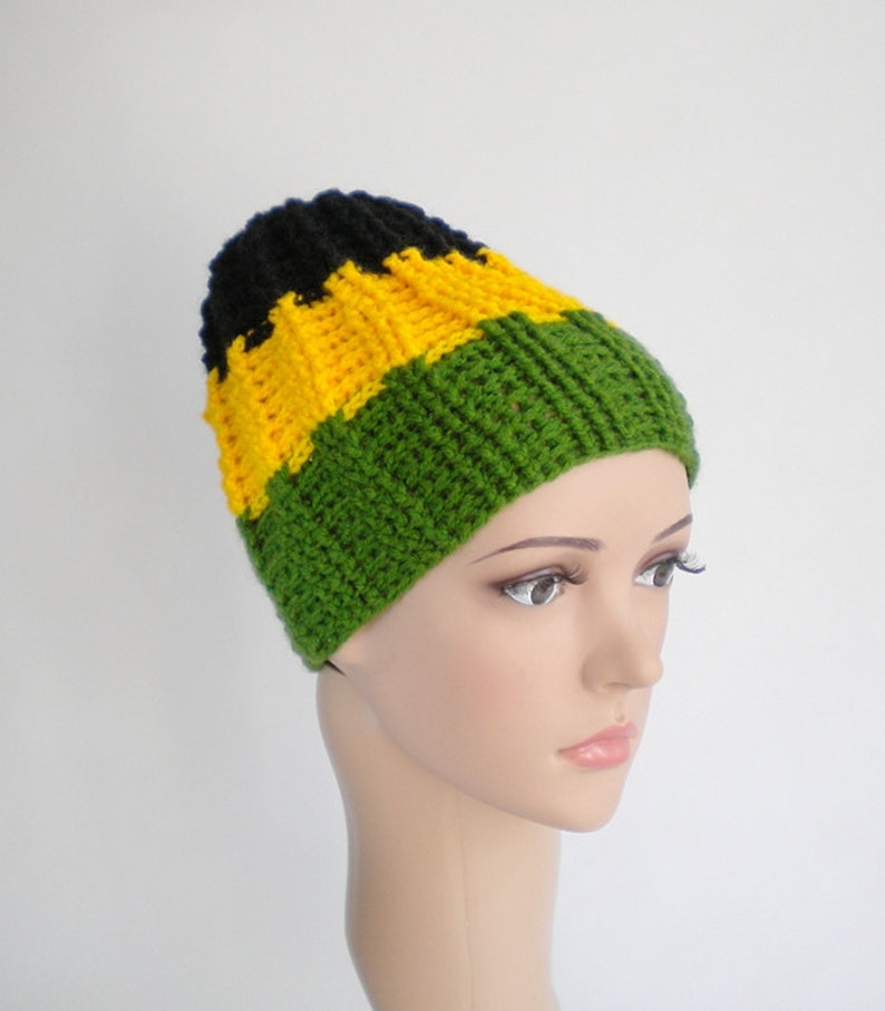 b94584f2909 Jamaica beanie reggae wear rasta apparel jamaica clothing