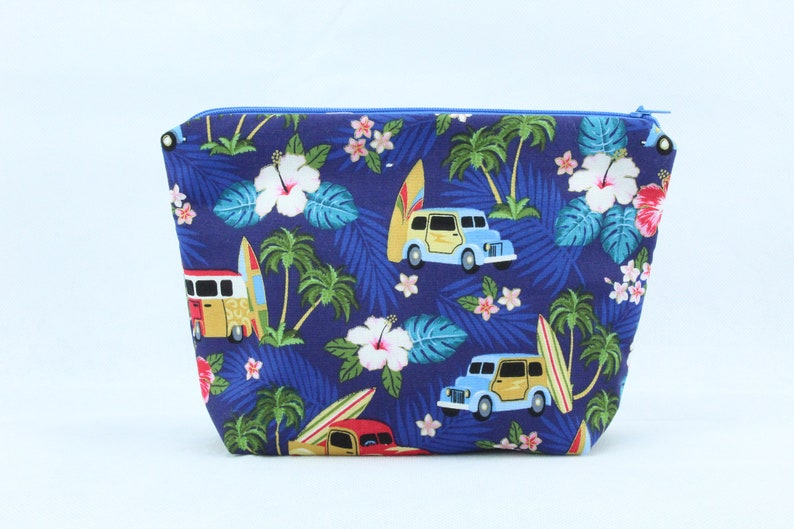 Surf Time Zip Bag Pouch