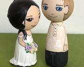 Bespoke order - wedding couple - Bride and Groom