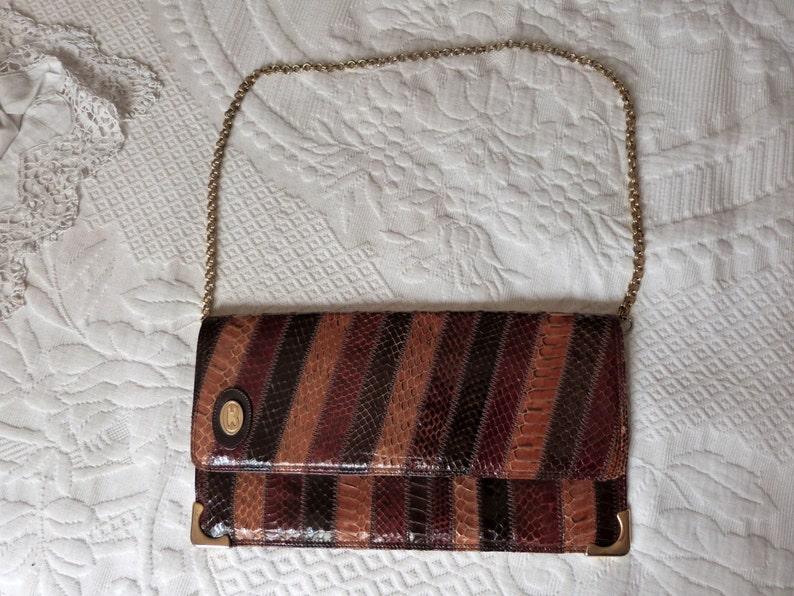 8be83313c9 Sac à main vintage en cuir en bandoulière bandoulière sac | Etsy