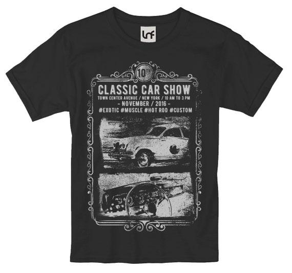Classic Car Show Mens TShirt SB Etsy - Classic car show york