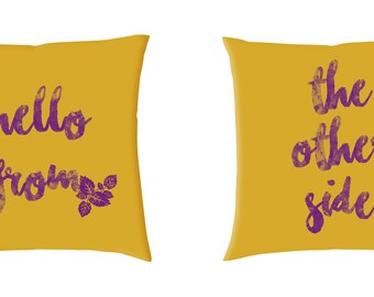 Hello from the other side Cushion Covers (C618)