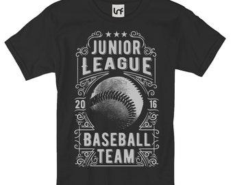 Junior Baseball League Men's T-Shirt (SB823)
