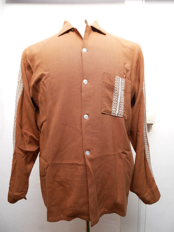 Western cowboy Wings vintage shirt M size