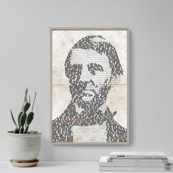 Alfred Lord Tennyson-Esperanza Poster-Foto Impresión Regalo De Arte Original