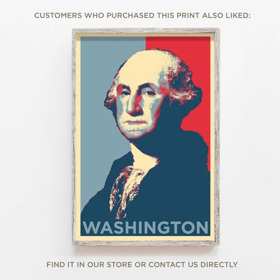 18x24 President George Jefferson Poster Parody Funny Art Print