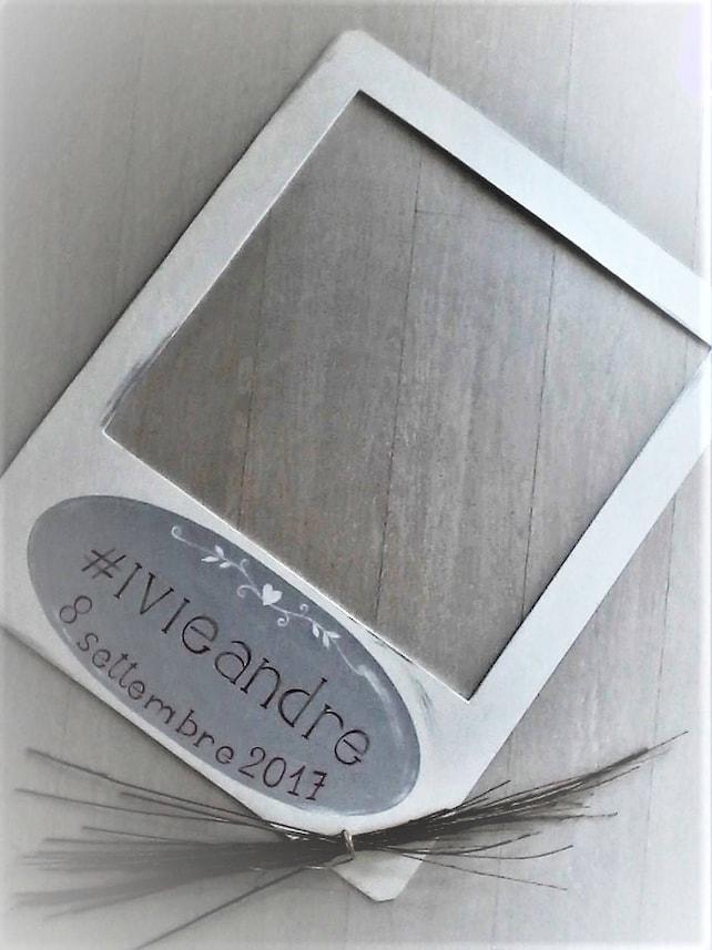 Personalisierte Hochzeit Rahmen Polaroid. Kundenspezifische | Etsy