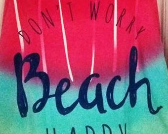 SUMMER SHWUG - Terry - Beach Happy!