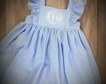 694c6f169 Seersucker dress