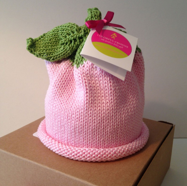 Baby Sprouts Knitted Newborn Baby Hat Fruit Collection Best image 0