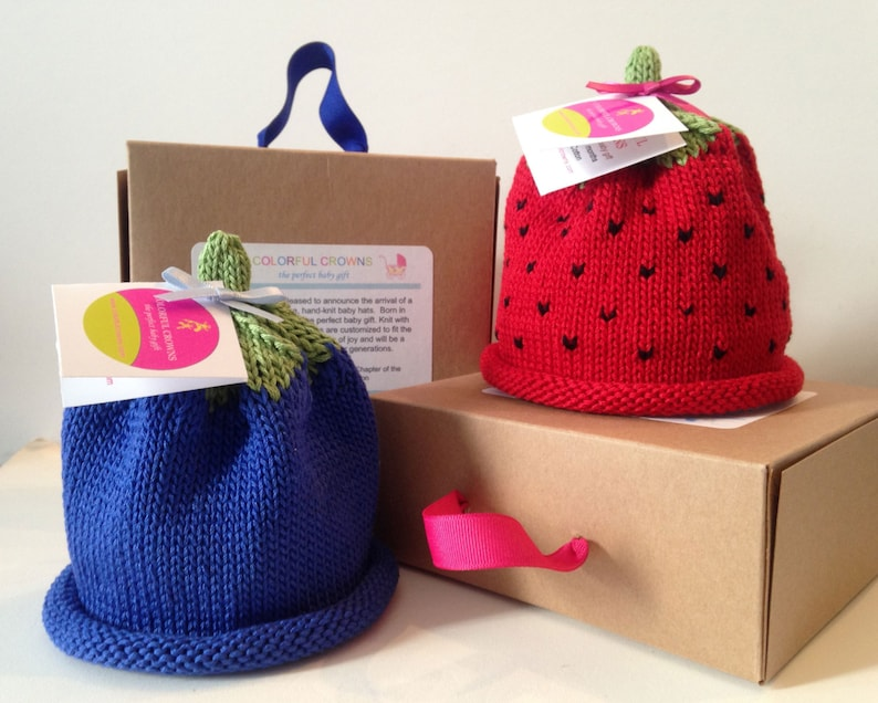 Blueberry and Strawberry Colorful Crown image 0