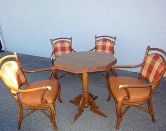 Four Palecek Chairs/Vintage Paleck Chairs/Additonal Pictures Of Palecek  Chairs