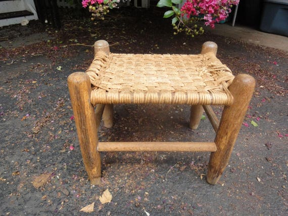 Strange Handmade Old Basket Weave Stool Vintage Stools Vintage Stools Basket Weave Stools Antique Stools Kitchen Stool Childs Stool Antique Stool Andrewgaddart Wooden Chair Designs For Living Room Andrewgaddartcom