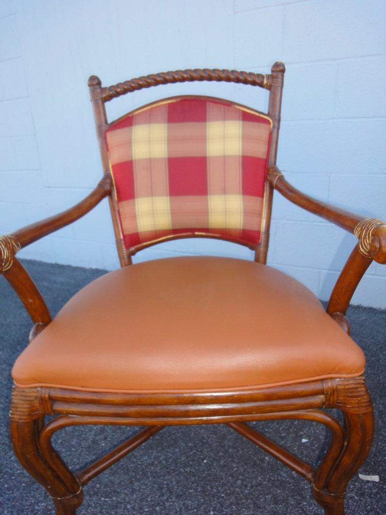 Four Original Palecek Dining Room Chairs Vintage Palecek Etsy