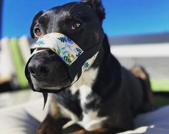 Stylish Adjustable Dog Muzzle