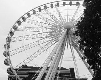 Atlanta Sky Wheel Photograph