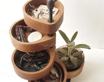 entryway organizer, key case, industrial shelves, desk organizer wood, industrial shelf, desktop organizer, desk organizer