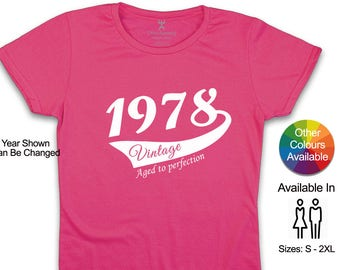 40th birthday tshirt, 40th birthday gifts for women, 40th birthday shirt, 40th birthday gift for wife, 40th birthday gift for sister