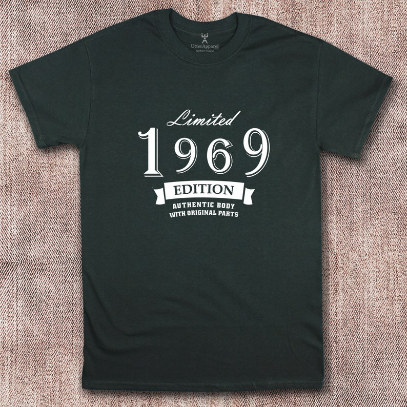 Quality Limited Edition 50th Birthday T Shirt Ideal Gift For Husband Father Or Son