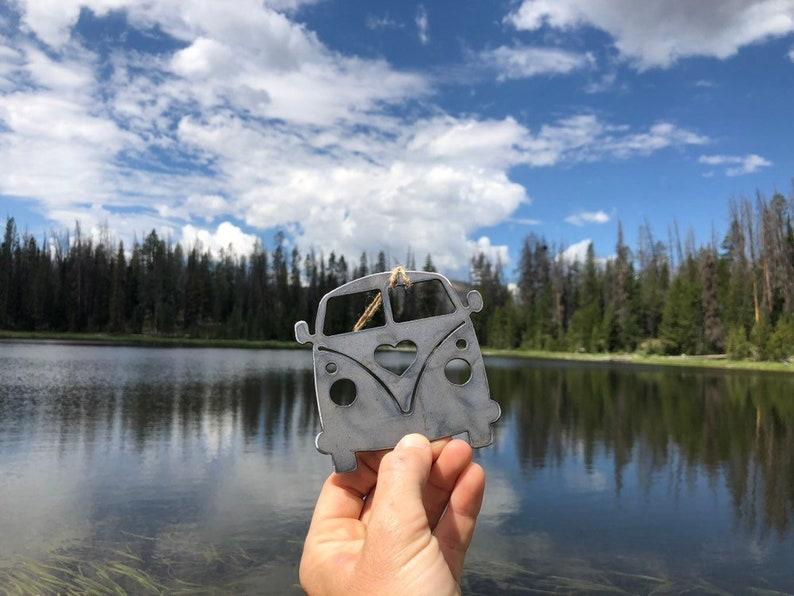 Van Ornament Love Bus Hippie Wagon Adventure Camping Explore Etsy