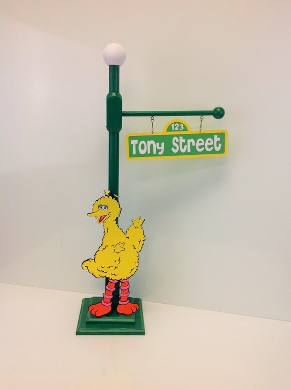 Big Bird Or Elmo Sesame Street Big Bird S Party Lamp Post