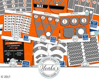 The Race Is On Party Printables Collection