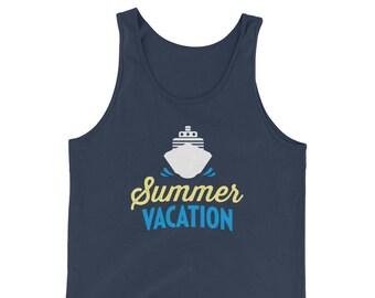 Summer Vacation Cruise Tank Top