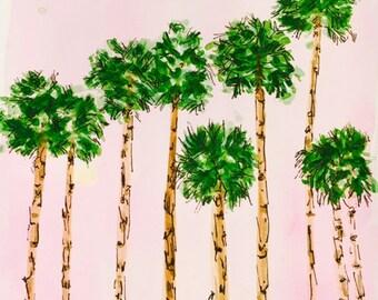 Delightful Palm Trees