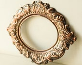 Antique Wall MIRROR FRAME, Oval Picture Frame for Ornate Mirror