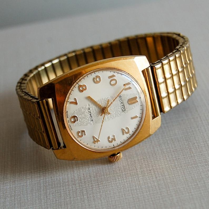 f65b79c3127e9 Russian Watch VOSTOK Original Soviet Vintage Watch Wostok / | Etsy