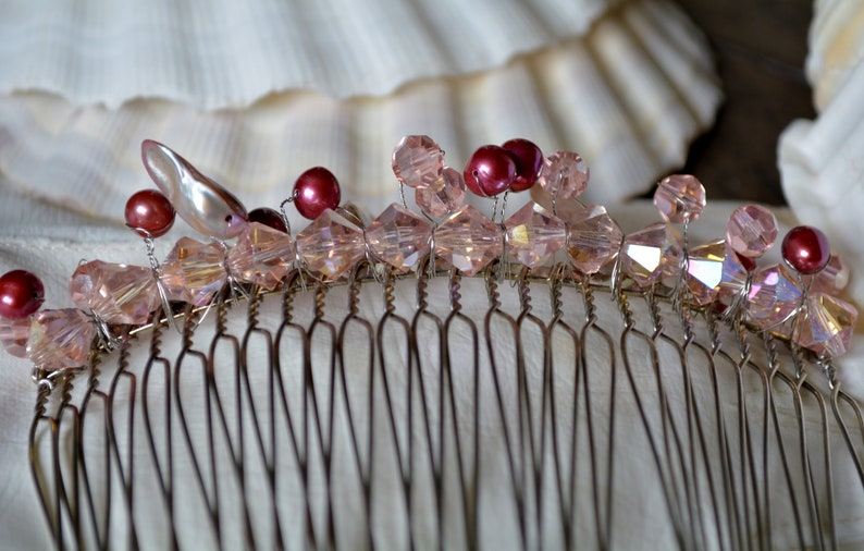Wedding Hair Wedding Accessories Bridal Veil Comb Hair Comb Mother of Pearl Accessories,Wedding Veil Comb