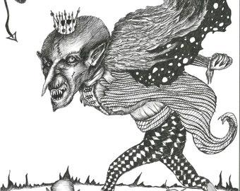 Prince of Darkness Art Print