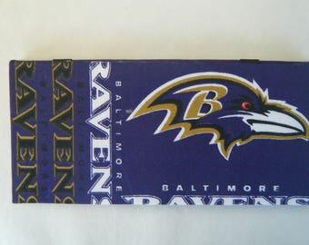 NFL Baltimore Ravens Magic Wallet Money Holder