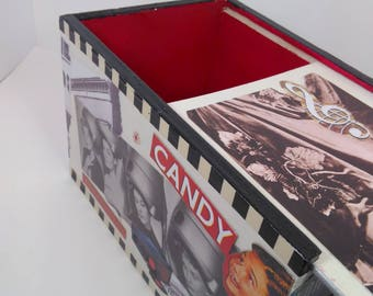 1950's Style Collage Box