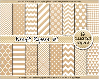 photograph regarding Printable Kraft Tags named Printable kraft tags Etsy