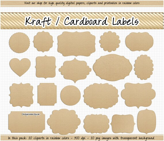 picture relating to Printable Kraft Tags called SALE Kraft paper label clipart electronic Cardboard labels Kraft tags Kraft printable labels Wedding ceremony labels Xmas tags Middle Kraft scallop