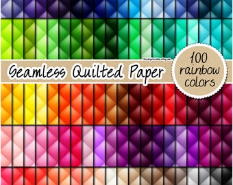 SALE 100 Seamless quilted digital paper leather digital paper quilted texture upholstery background tufted digital paper leather background
