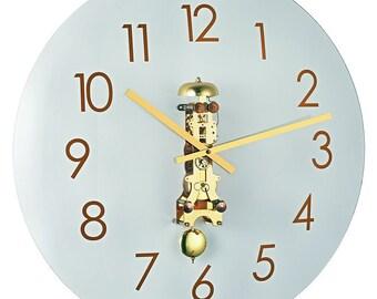 Pendule Westminster Avec Cheminee Cles Horloge Grand Mere Cheminee