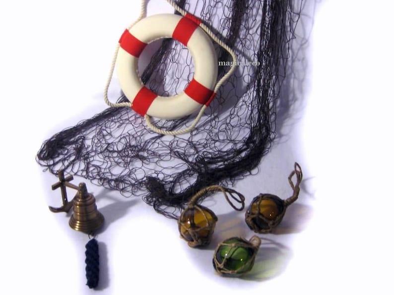 Miniglocke Bändsel massive Schiffsglocke aus Messing mit Halterung