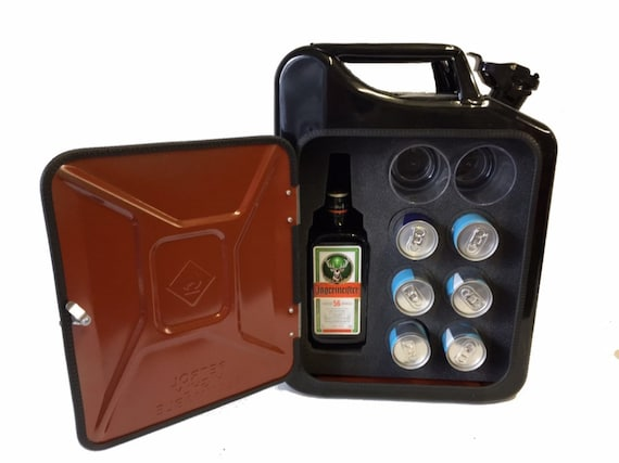 172f4e207f9 Jagermeister and redbull Jerry can mini bar with modern light
