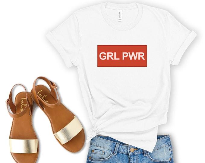 Girl Power Unisex Jersey Short Sleeve Tee