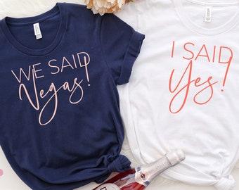 Vegas Bachelorette Party Shirts, Bridesmaid Shirts, Bridal Party Shirts, Wedding Party Shirts