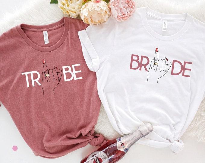 Ring Finger Bride Tribe Shirt